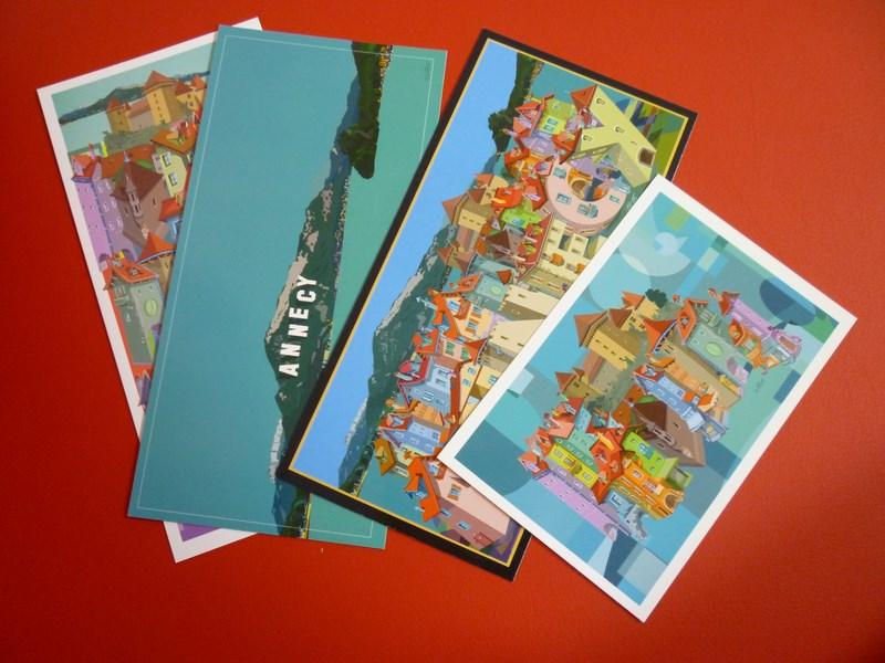 Cartes postales et affiches