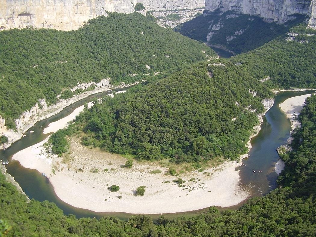 La Réserve Naturelle des Gorges de l'Ardèche