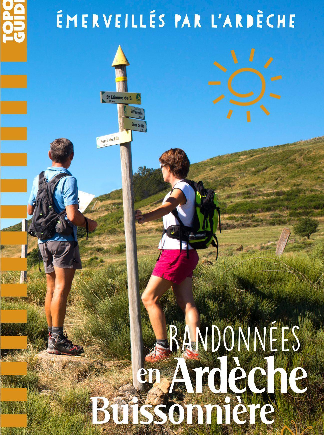 Topoguides Randonnées pédestres en Ardèche