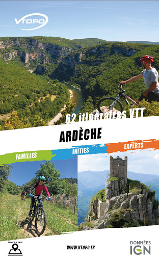 Topoguides vélo en Ardèche