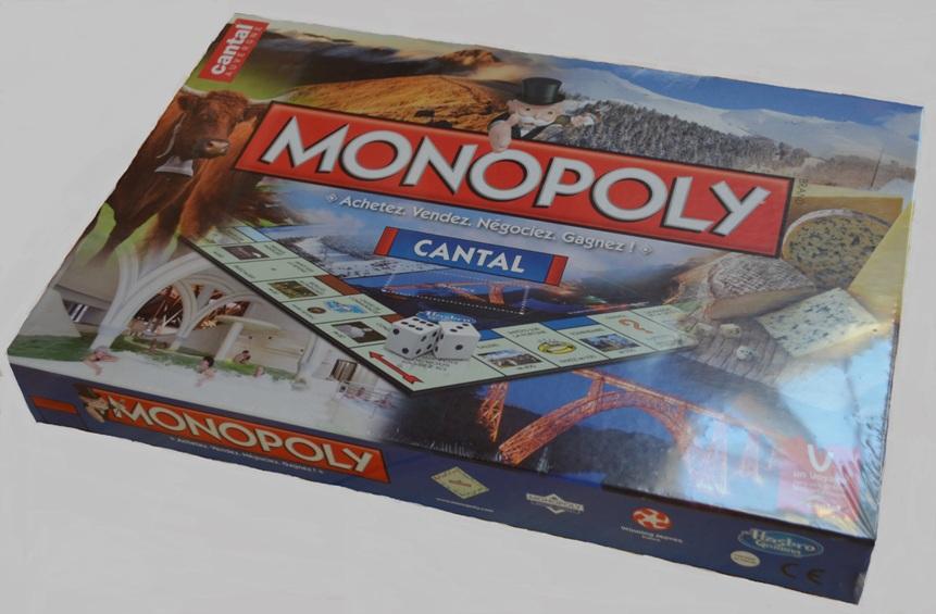 Jeu Monopoly Cantal