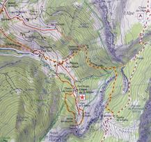 Cartes et topos de randonnée