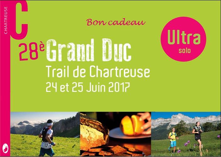 Bon-cadeau Ultra-trail du Grand Duc