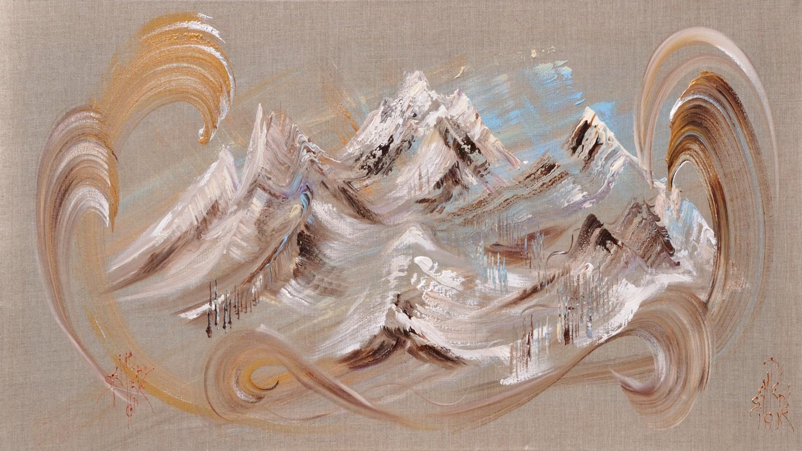 Peintures de Simone Sempéré