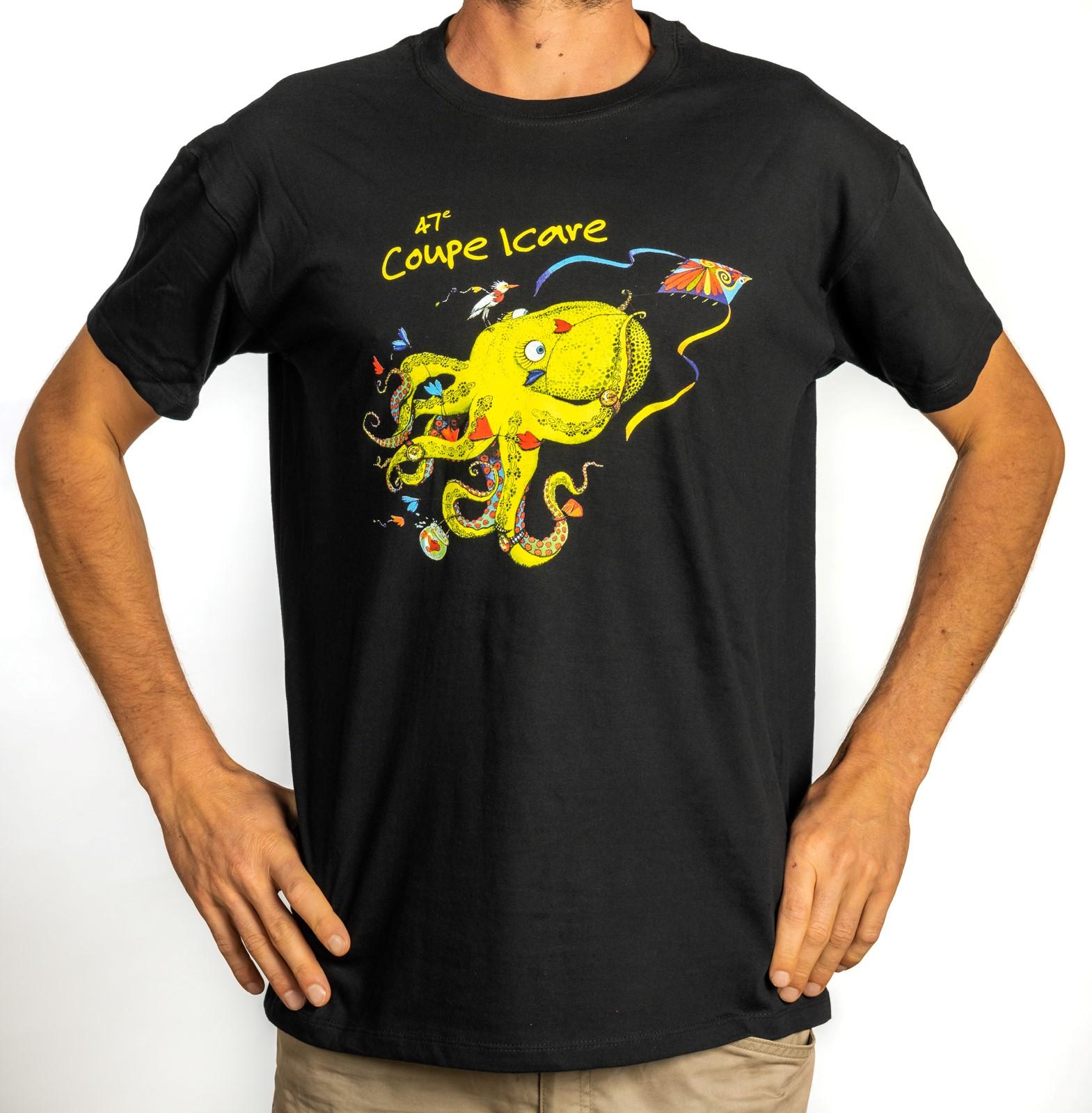 T-shirt Homme Noir 2020