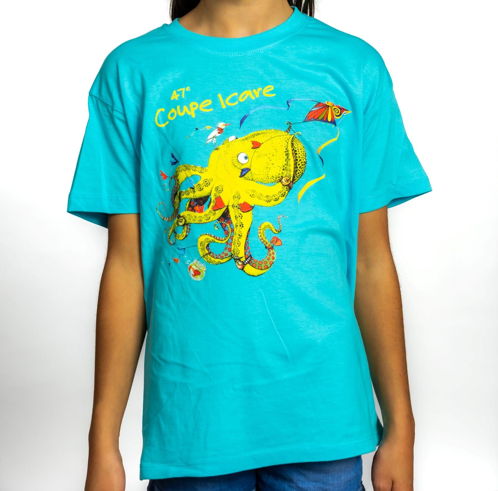 T-Shirt Enfant Bleu Atoll 2020