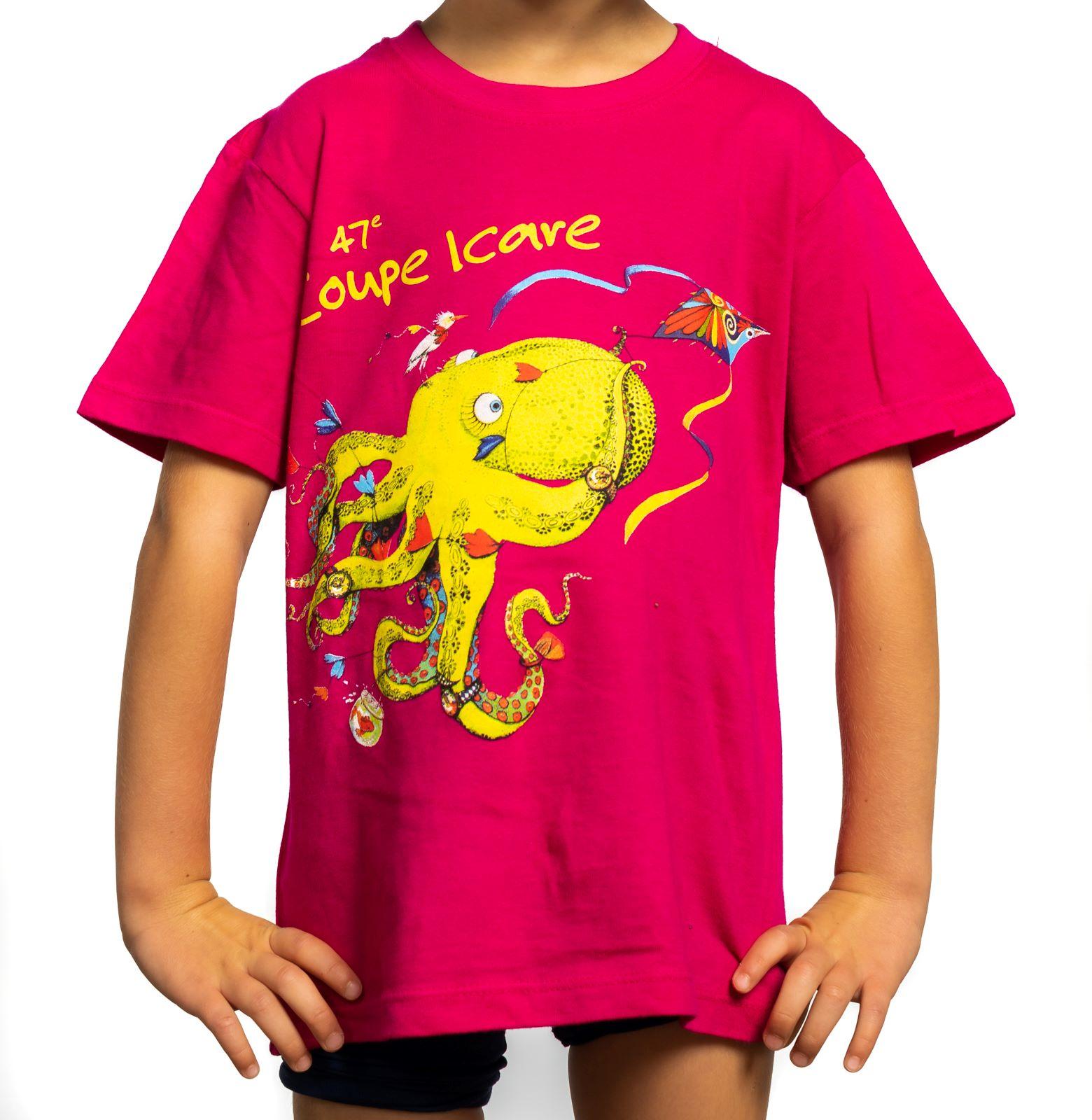 T-Shirt Enfant Fushia
