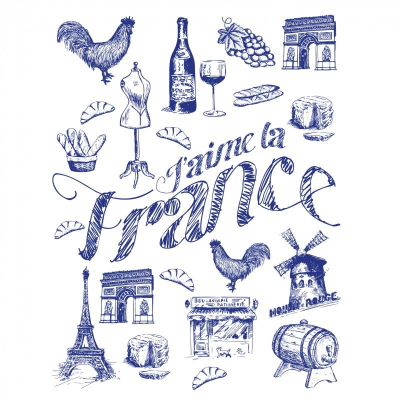 """Produits originaux """"J'aime la France"""""""