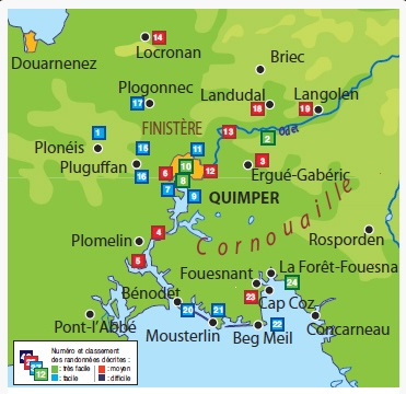 Les environs de Quimper