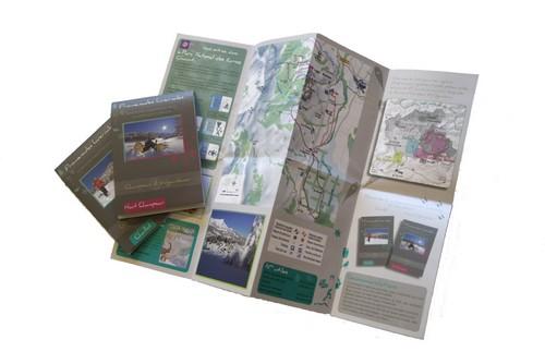Itinéraires raquettes de Gap-Bayard et de Laye