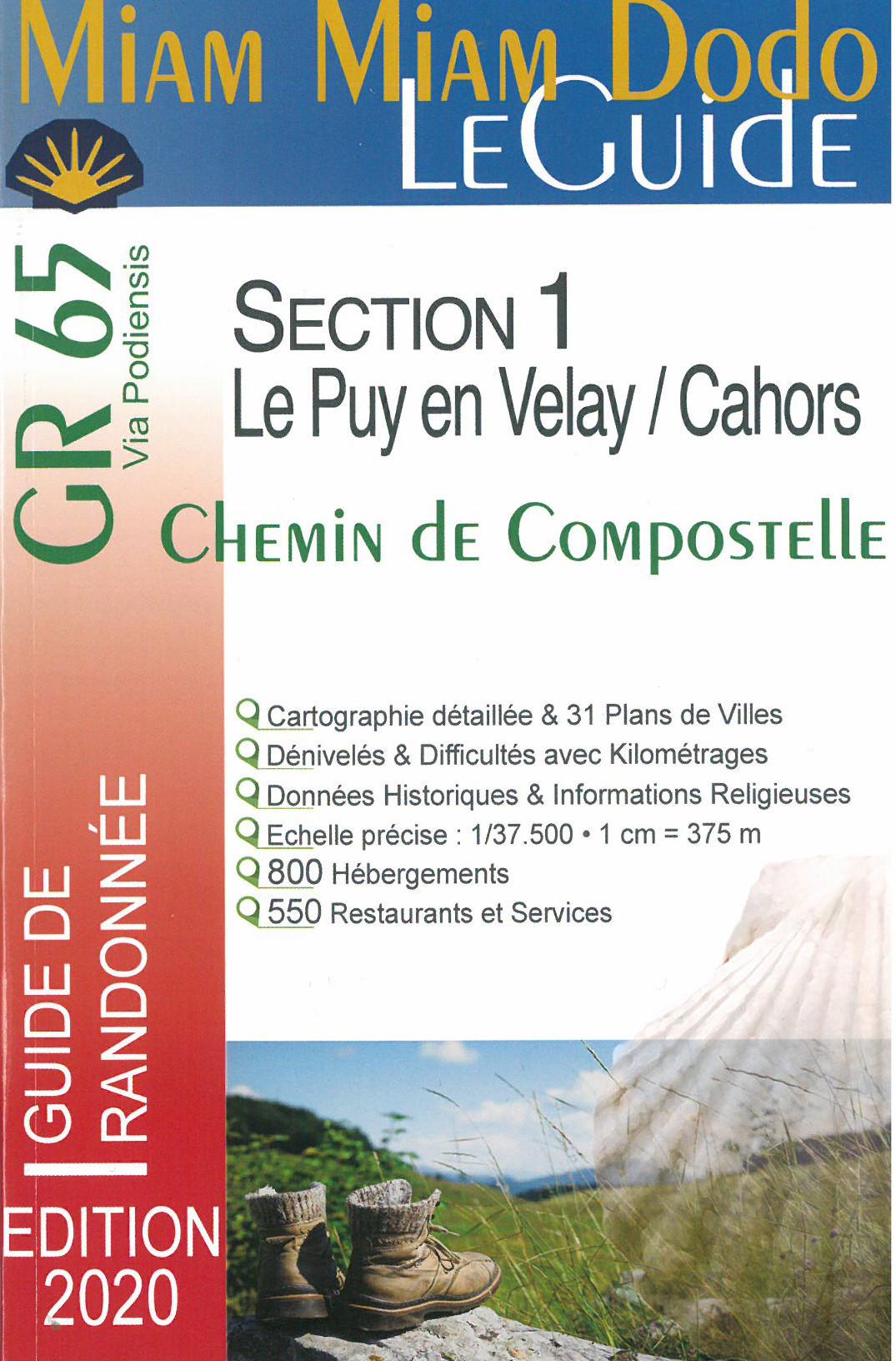 Vers Saint-Jacques-de-Compostelle (en France)