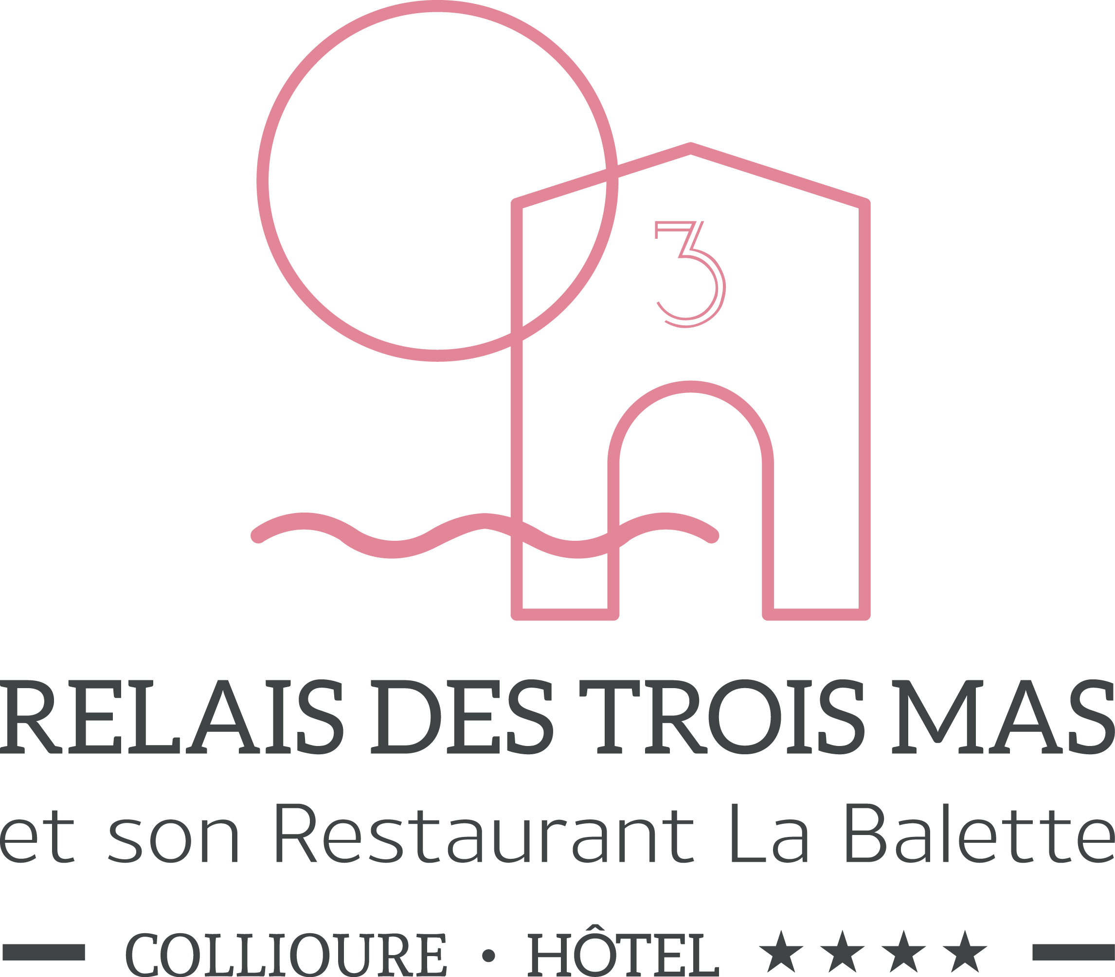 Hôtel Relais des Trois Mas - Restaurant la Balette