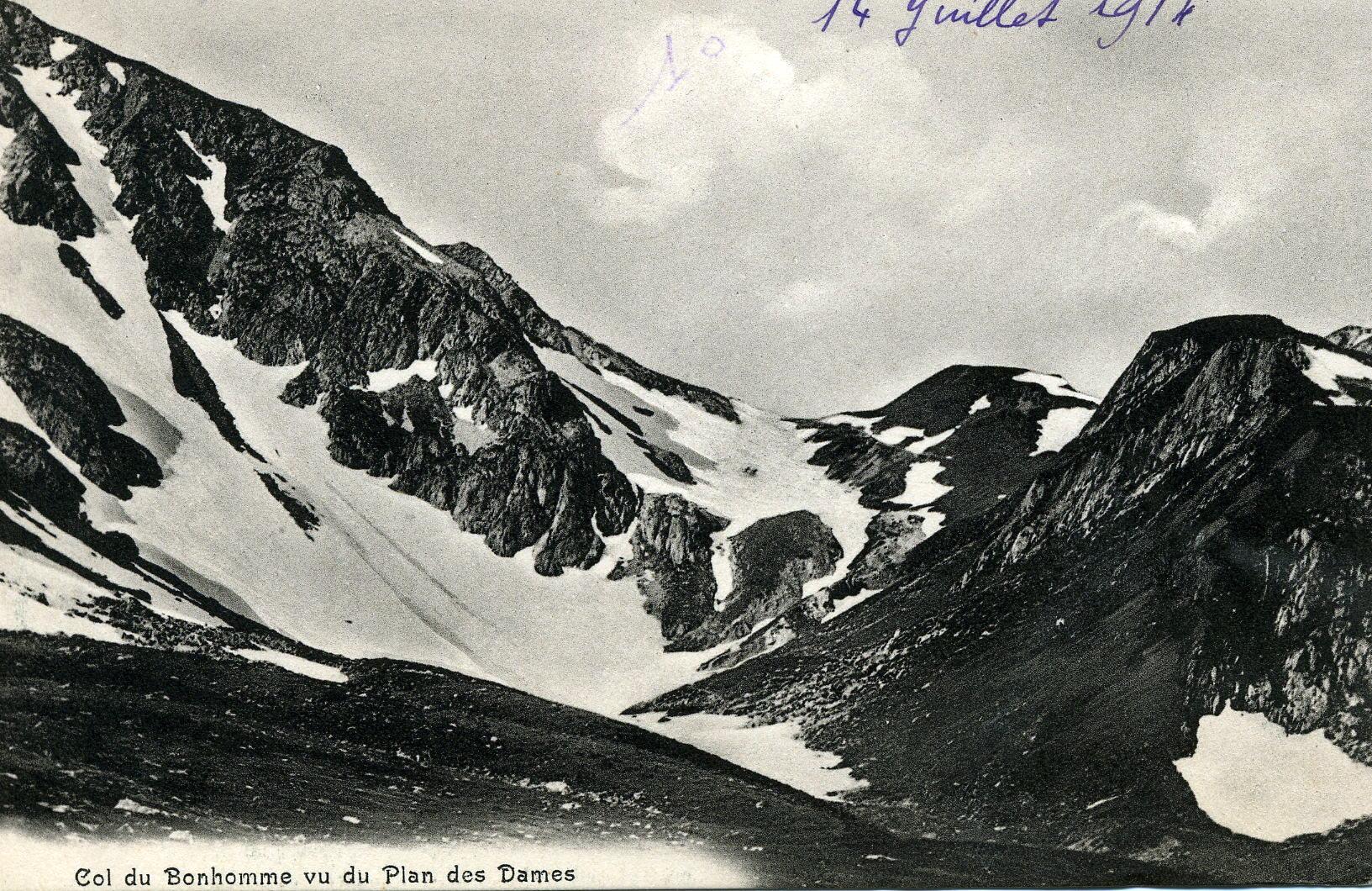 Le Col du Bonhomme 2329m ©